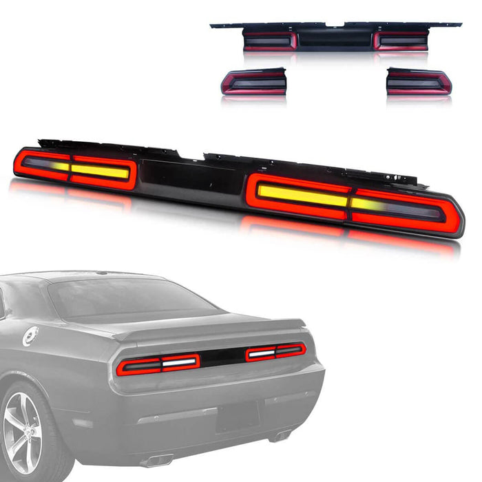 2009 Challenger tail lights