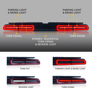 2010 Challenger tail lights
