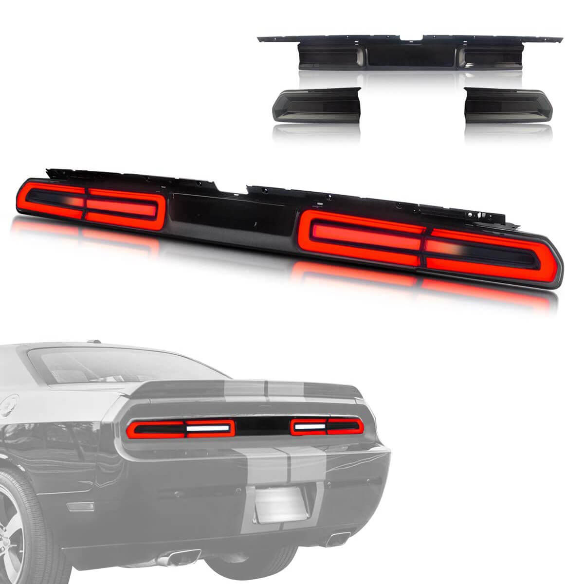 Vland Led Taillights For Dodge Challenger 2008 2014 W Sequential Indic Vland Official