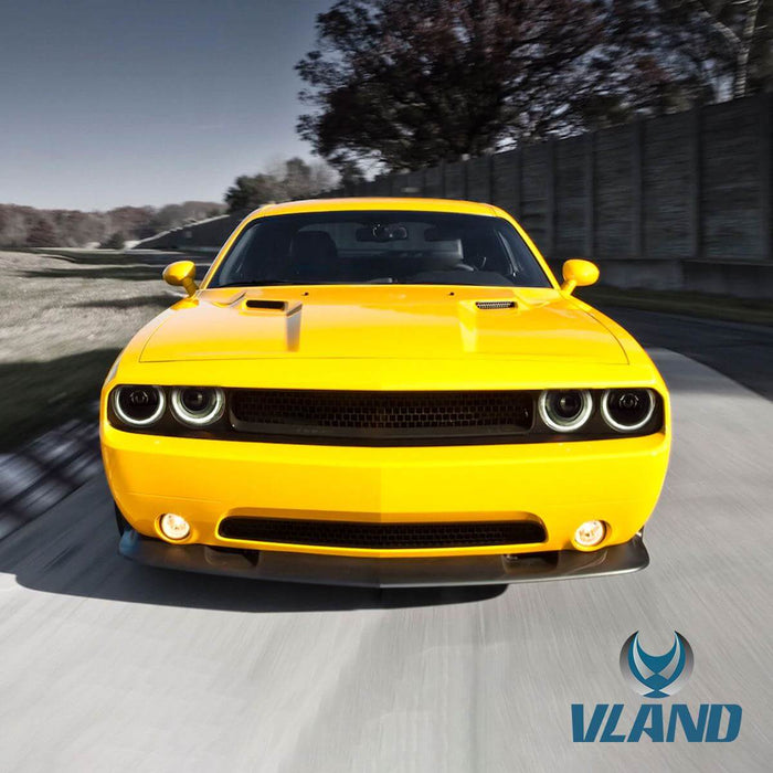 2013 dodge challenger headlights
