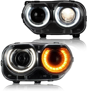 Dodge Challenger headlights