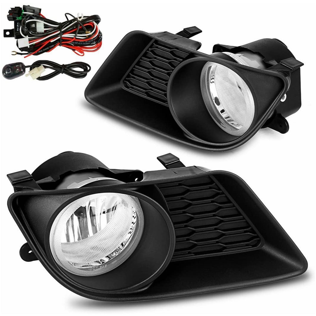 Dodge Charger fog lights