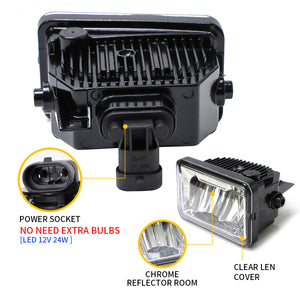 Ford F150 fog lamps