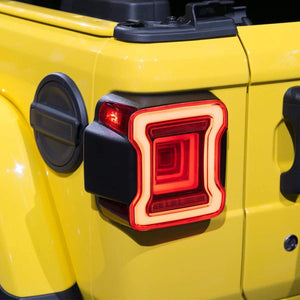 Jeep Wrangler tail lamps