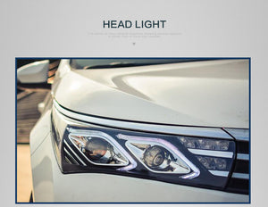 Toyota Corolla LED Headlights 2014-2017