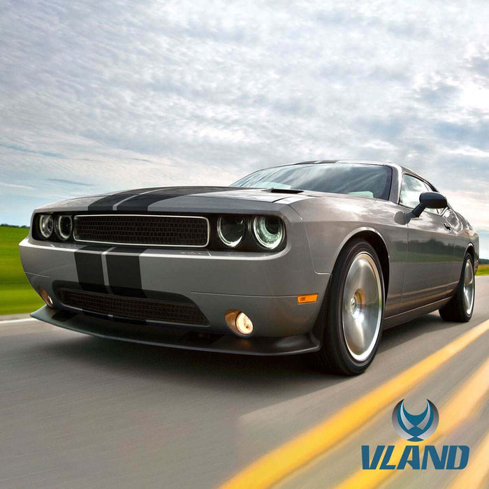 challenger led headlights