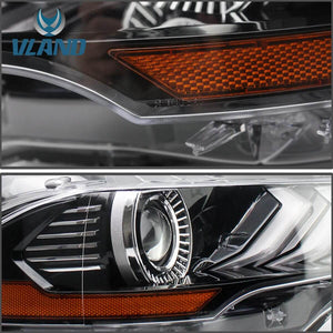 mustang led headlights