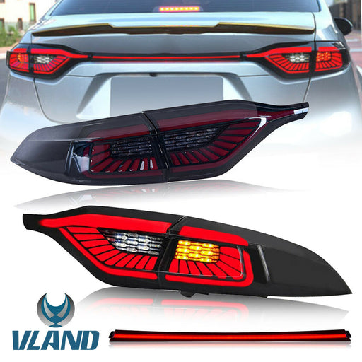 Toyota Corolla Sedan Taillights