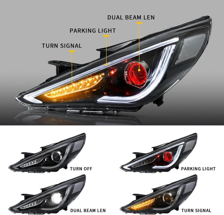 sonata headlight