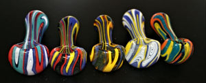 "4"" MIND BENDER Reversal Thick Glass Pipe"