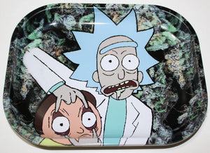 "7"" x 5.5"" Rick and Morty Nuggets Rolling Tray"