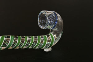 "4"" HONEYCOMB SHERLOCK GREEN One Hitter"