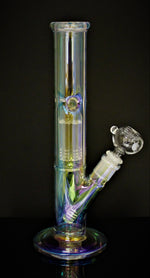 "12"" ION FINISH Hookah Water Pipe HOLOGRAPHIC"