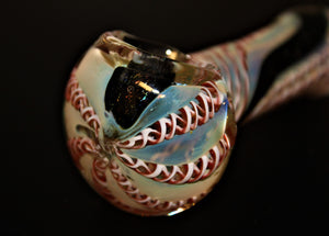 "4 1/2"" HALEY'S COMET Glass Pipe"