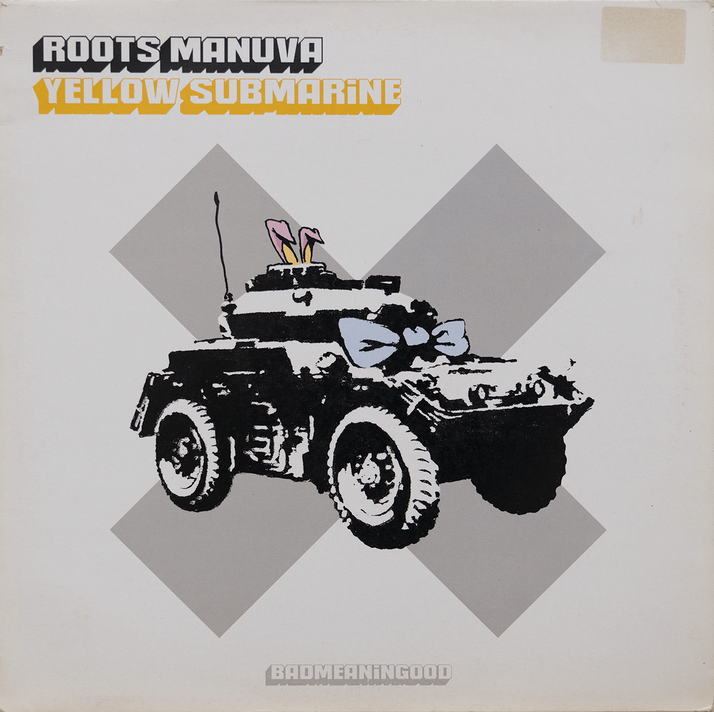 Yellow Submarine by Roots Manuva Vinyl 12