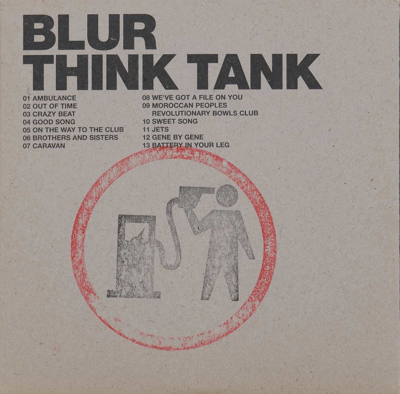 Blur – Think Tank CD