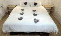 Ugly as Duck Duvet Cover and Pillows Set