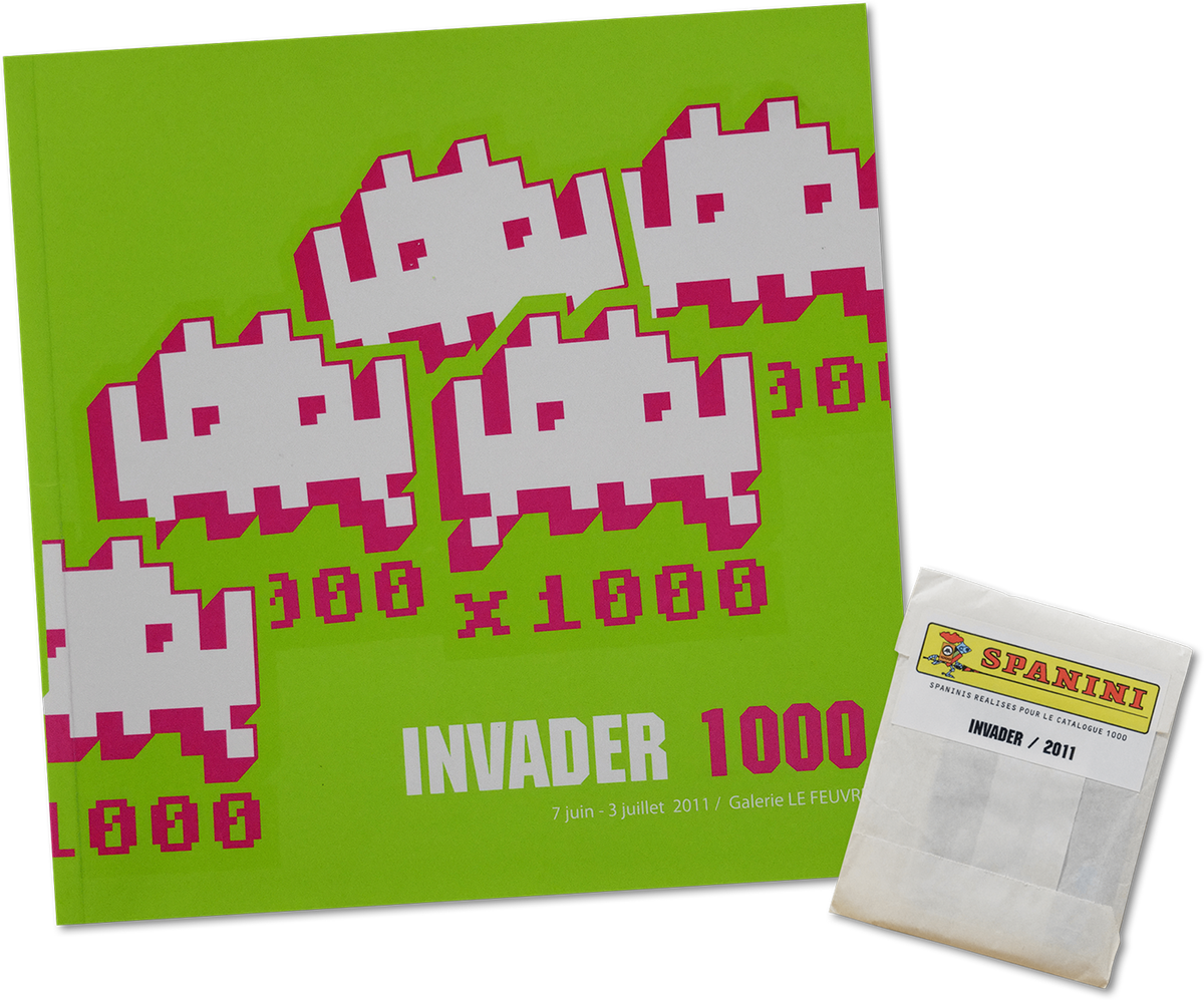 Spanini Stickers and 1000 Book