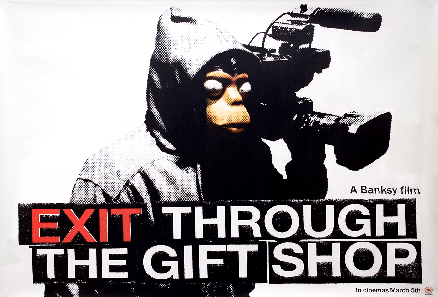 Exit Through the Gift Shop Poster (Large)