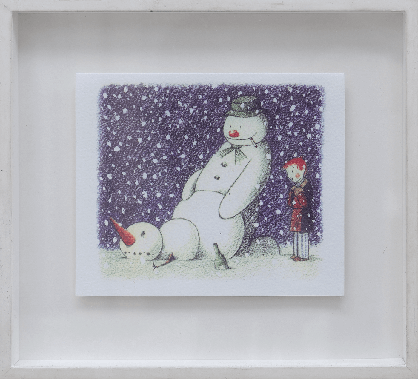 Rude Snowman Christmas Card