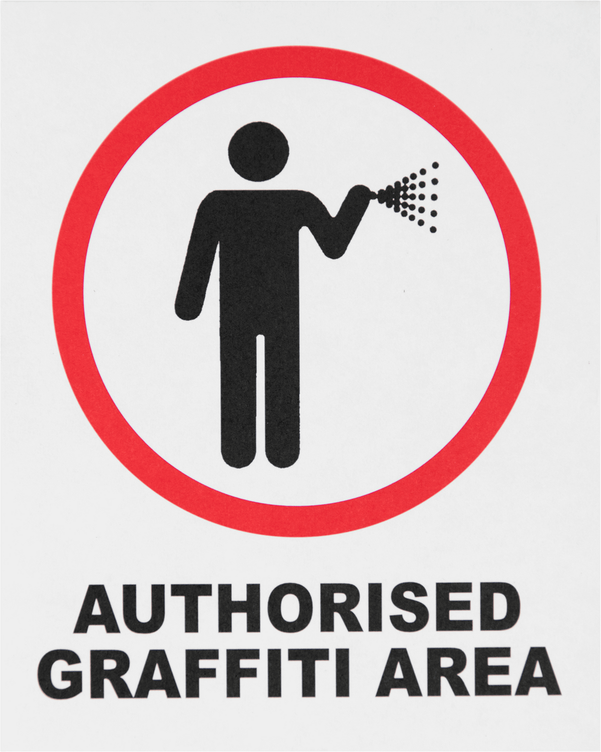 Authorised Graffiti Area