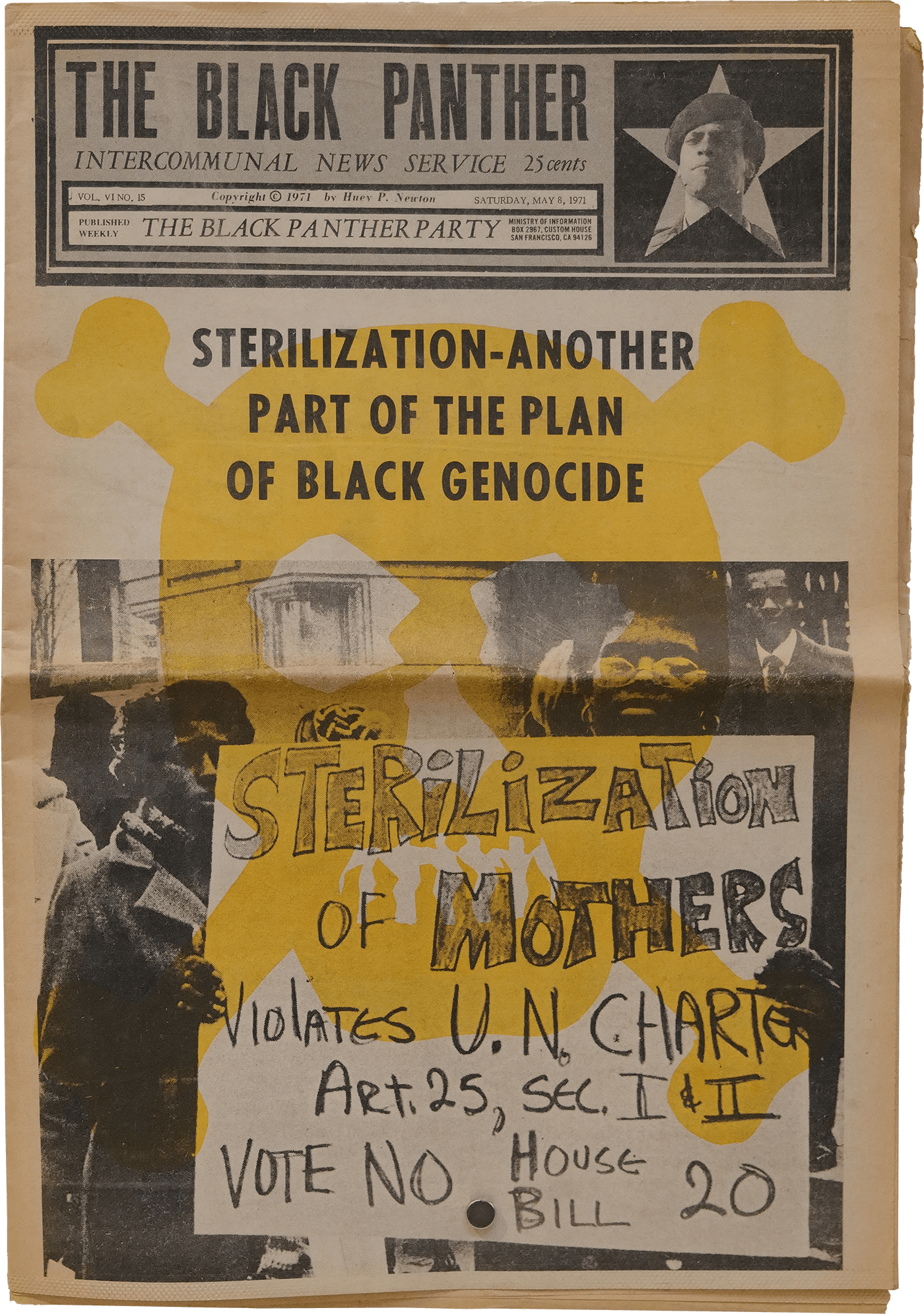 The Black Panther Newspaper (May 8, 1971)