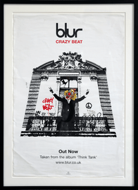Crazy Beat Blur Poster