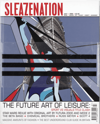 The Future Art of Leisure with free Banksy Stencil July 1999