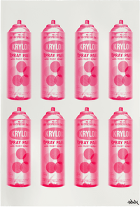 Krylon Series: Many Cans –  Pink (Regular)