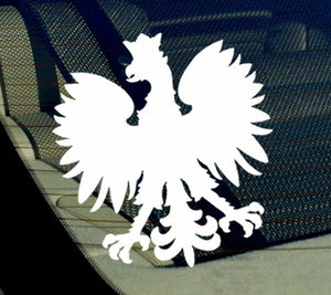 "Poland Eagle Polish Flag Bird Symbol Vinyl Decal Sticker 4"" (PolishFlag)"