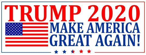 Trump Keep America Great 2020 President Decal Bumper Sticker Make Again Donald