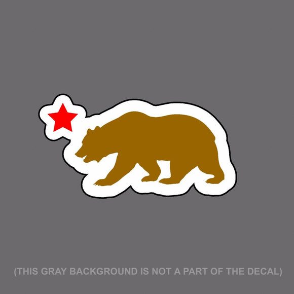 California Bear And Star Printed JDM Racing Drifting Decal Sticker 6
