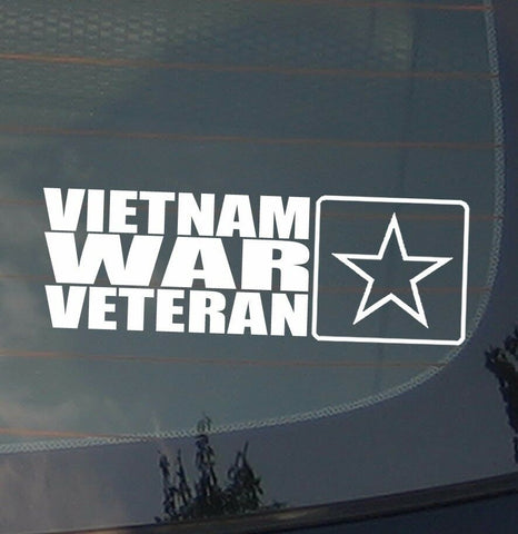 Vietnam War Veteran Patriotism Patriot Pro America Vinyl Decal Sticker