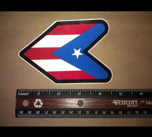 x2 / Two Pack JDM Wakaba Puerto Rico Vinyl Decal Sticker JDM Racing (Rico Wak)