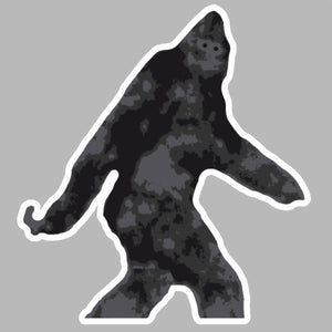 Sasquatch Bigfoot Yeti Auto Window Bumper Vinyl Decal Sticker Model RV2