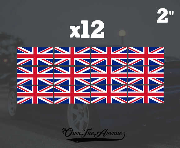x12 United Kingdom Flag 2