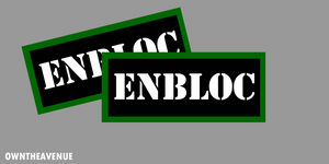 "ENBLOC Ammo Can Labels for Ammunition Case 3.5"" x 1.50"" stickers decals 2 PACK"