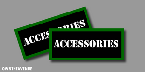 Accessories Ammo Can Labels for Ammunition Case stickers decals(2PACK)