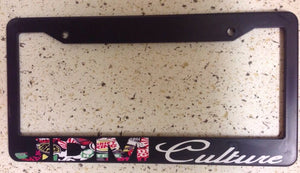 JDM Culture Sticker Bombing Race Drift Low Turbo Blk License Plate Frame (cltf8)