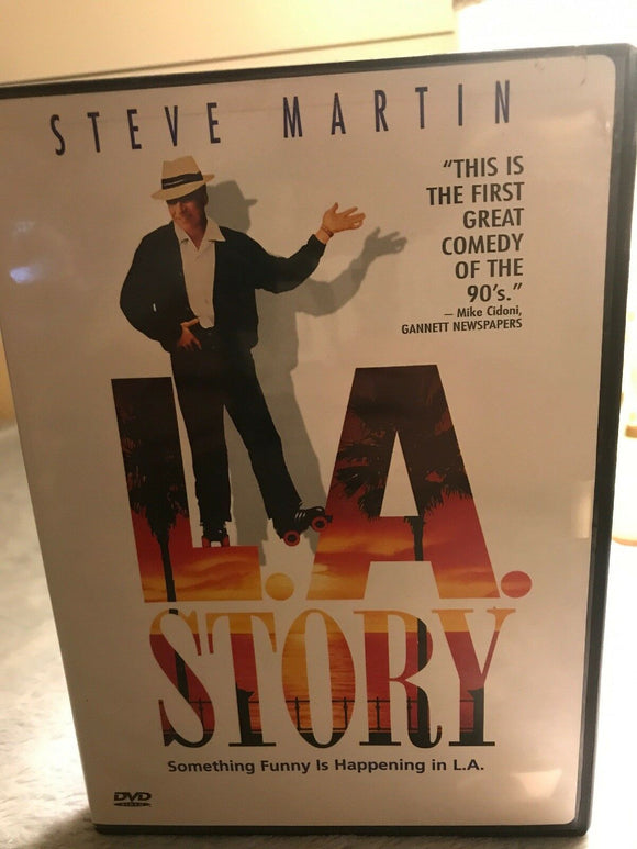 L.A. Story (DVD, 2002, Sensormatic Security Tag - Widescreen Version)