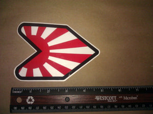 Wakaba Leaf Japanese Japan Flag JDM Vinyl Decal Sticker Low Drift Race #3
