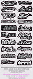 JDM Mega Sticker Pack Low Tuner Racing Vinyl Decals 20 Stickers Choose Color FCO