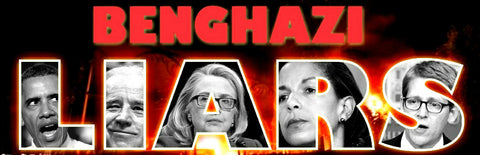 BENGHAZI LIARS Libya Government Anonymous Political Bumper Sticker #DFF443