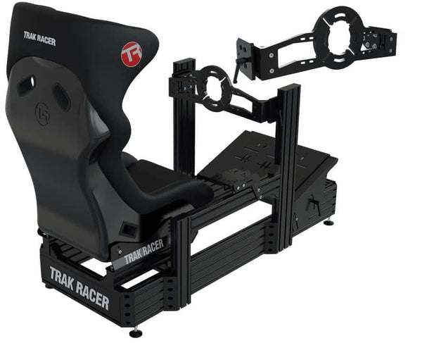 Bundle: TR8020 Black TR160 160mm x 40mm Aluminium Cockpit with Direct Front Wheel Mount and GT Style Seat</br>SM80 - 4 Actuators