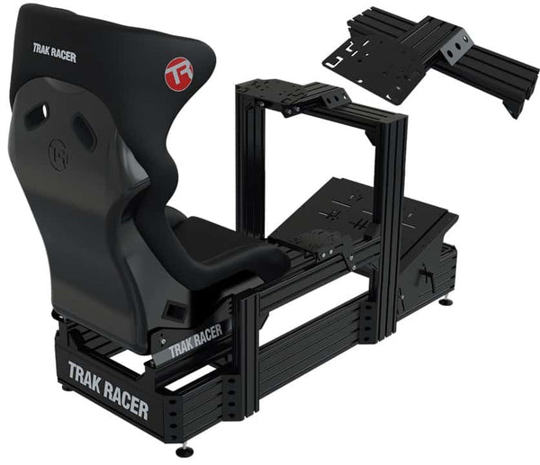 Bundle: TR8020 Black TR160 160mm x 40mm Aluminium Cockpit with Wheel Deck and GT Style Seat</br>SM80 - 4 Actuators