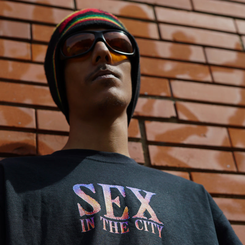 T-shirt | Sex in The City noir Lorenzo