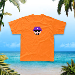 T-Shirt | Grosse teté Rico orange - Lorenzo
