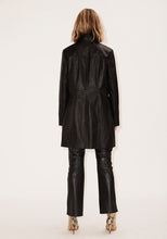Load image into Gallery viewer, Slim Fit Lambskin Trench Coat
