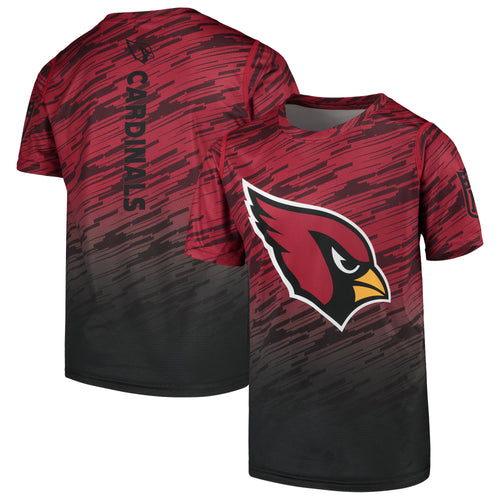 ARIZONA CARDINALS YOUTH OUT PROPULSION SUBLIMATED TEE RED