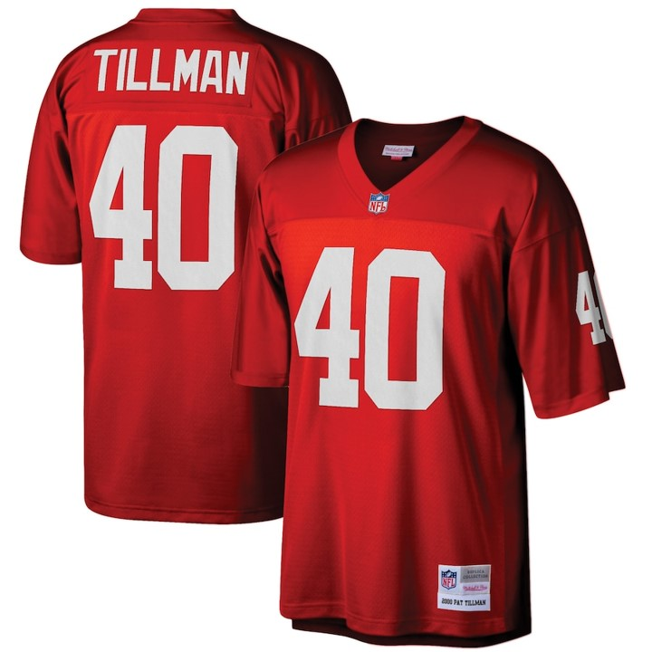 Men's Arizona Cardinals Pat Tillman Mitchell & Ness Red Legacy Replica Jersey